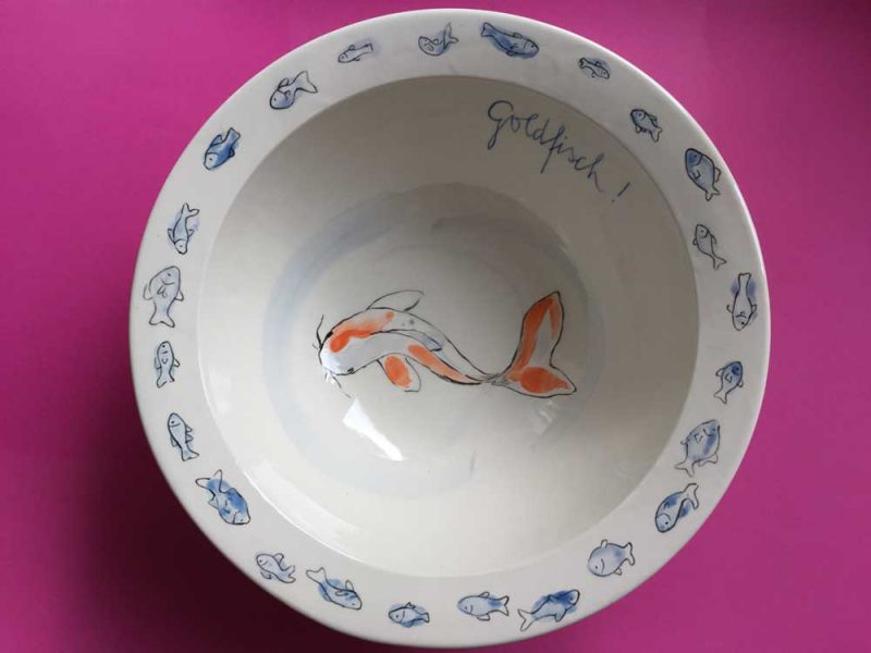 Goldfisch - Abschiedsgeschenk